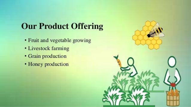 crop production business plan sample pdf