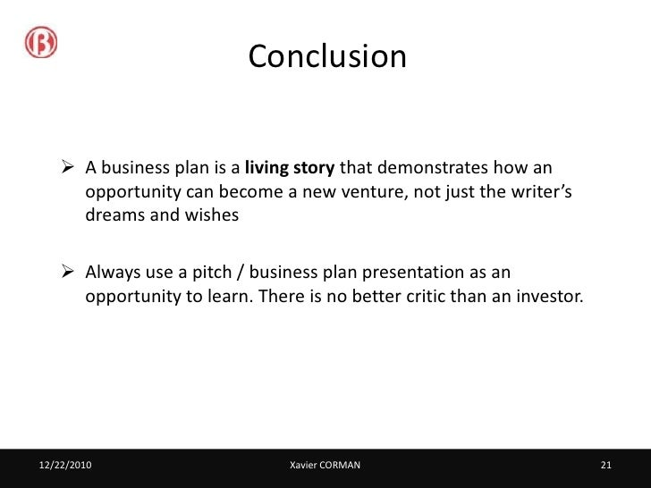 Presentations: presentation endings, conclusions