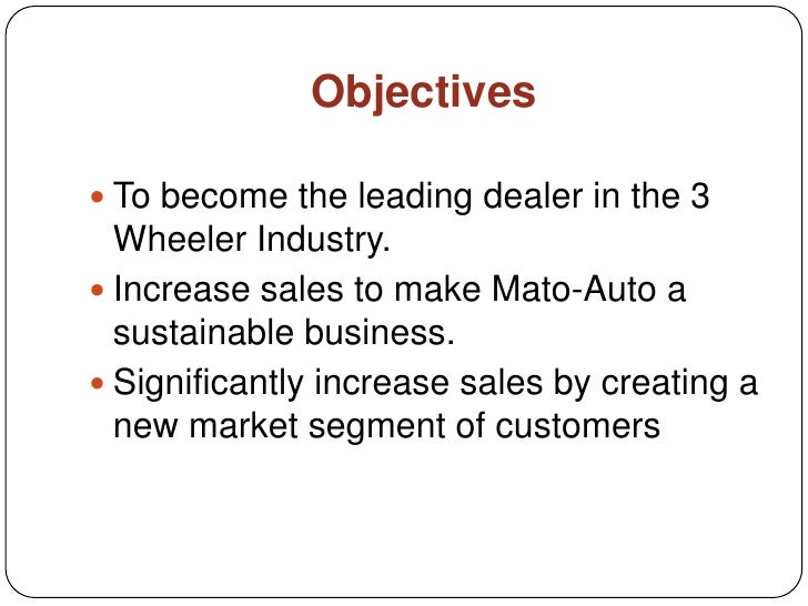 Used Auto Sales Business Plan