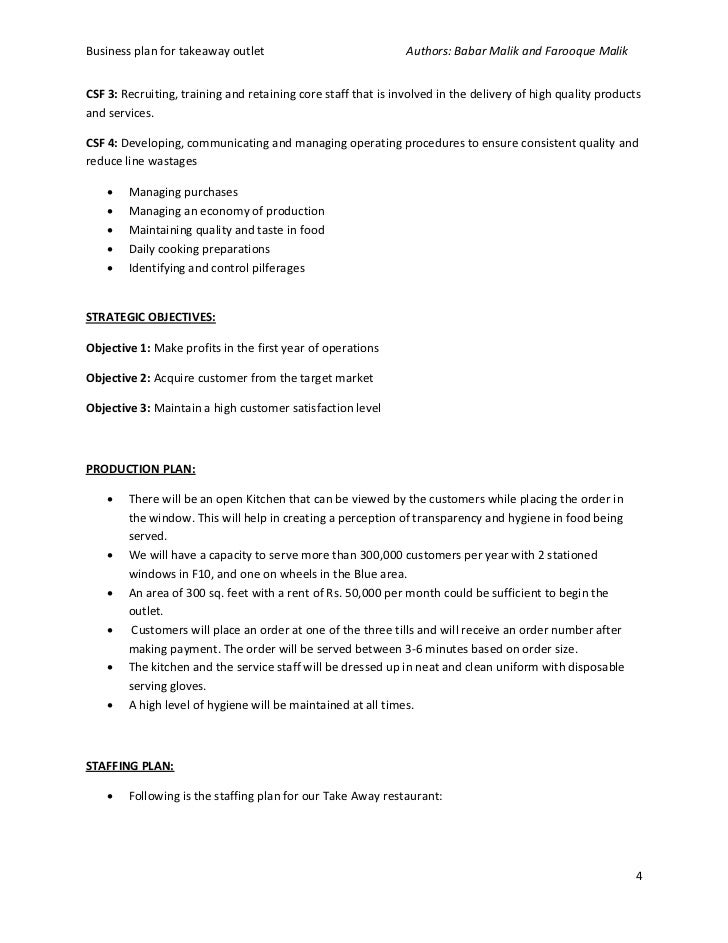 Business plan of paratha takeaway business plan cheaphphosting Image collections
