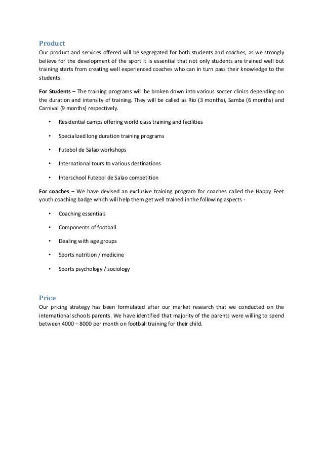 A Sample Preschool Business Plan Template