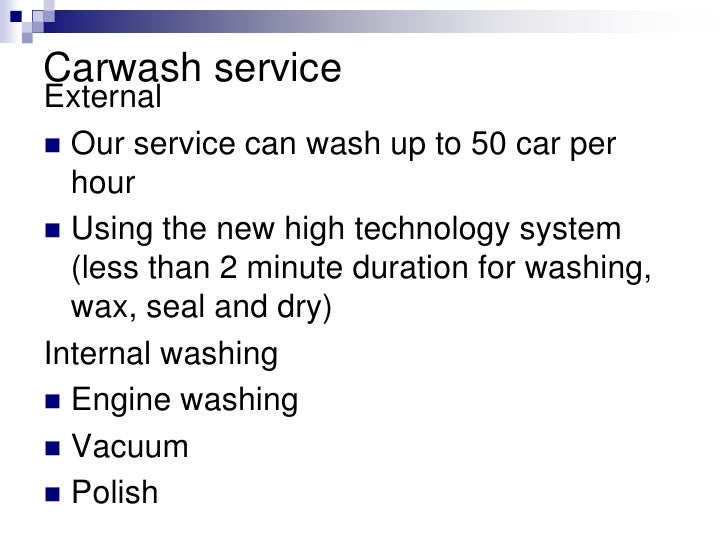 How to Start a Carwash: 5 business plan writing tips
