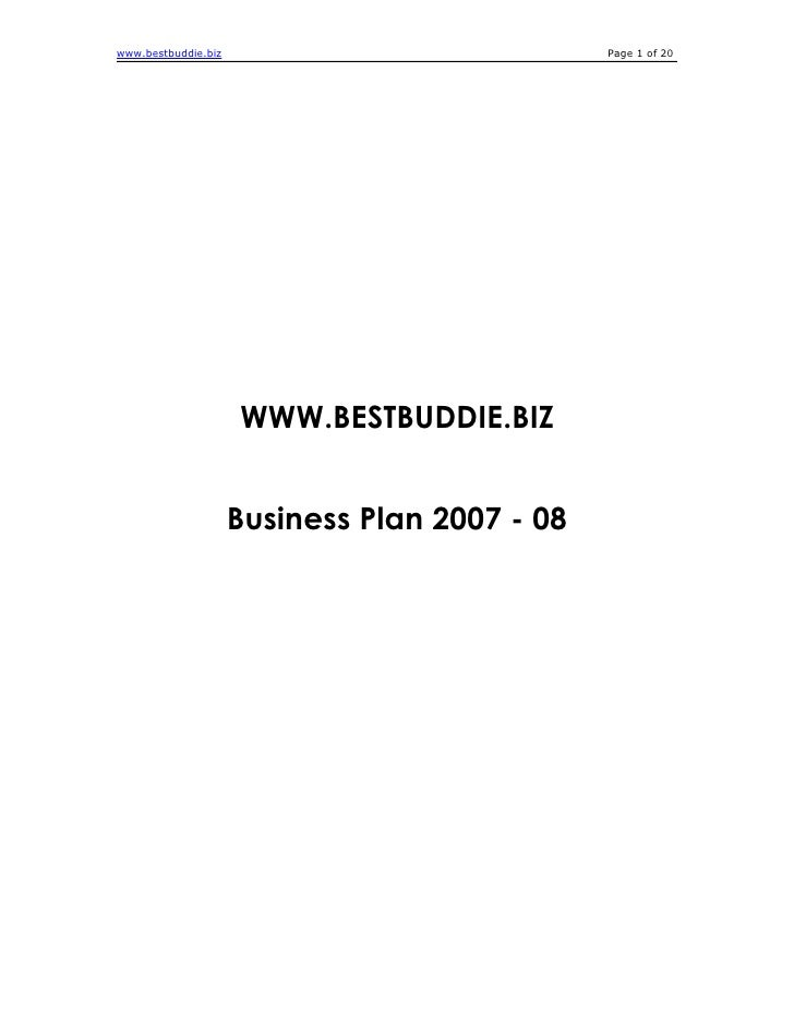www.bestbuddie.biz                             Page 1 of 20                          WWW.BESTBUDDIE.BIZ                   ...