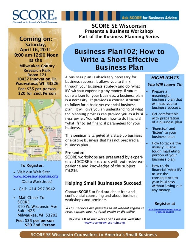 Coming on: Saturday, April 16, 2011 9:00 am-12:00 Noon at the Milwaukee County Research Park Room 121 10437 Innovation Dr....