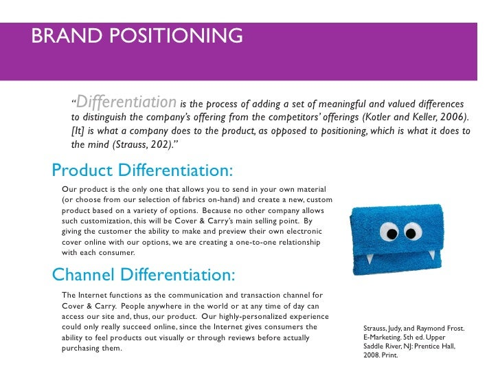 product differentiation ppt