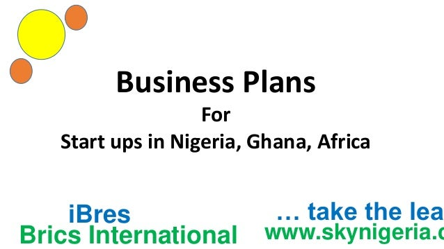 Business plan writers in ghana