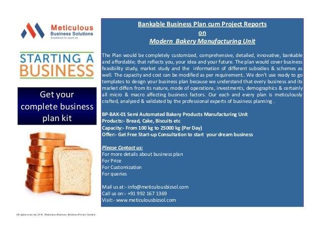 Custom manufacturing business plan
