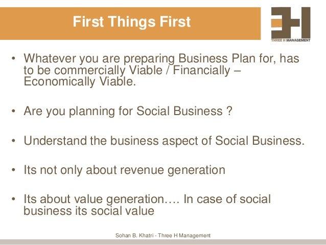 Main purpose of preparing a business plan