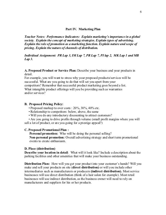 business proposal for students