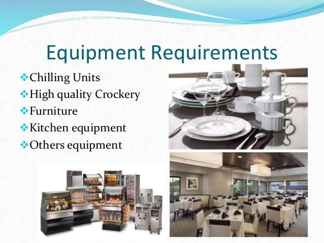 Restaurant Kitchen Units business plan (restaurant)