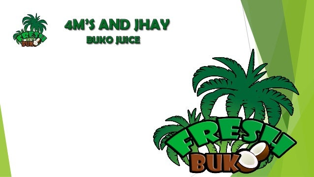 buko pandan juice business plan