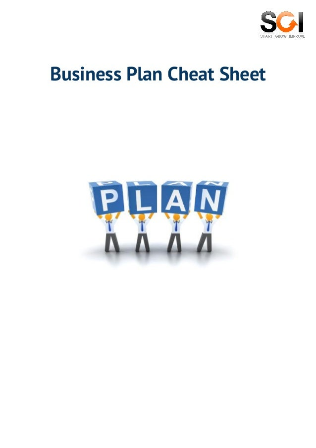 How To Get Funding For Your Startup Business Plan Cheat Sheet