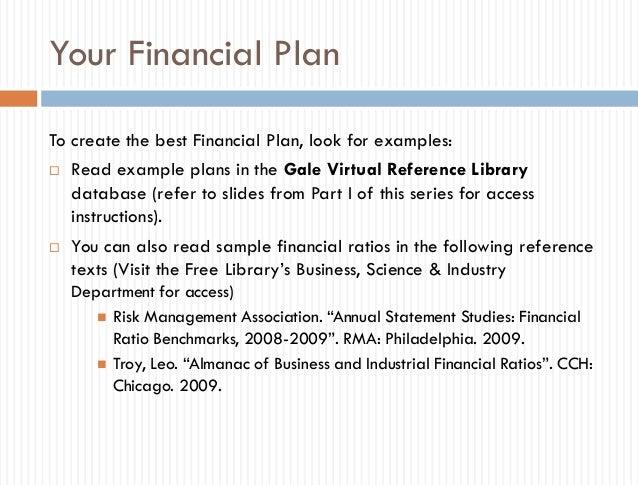 business financial plan sample - Khafre