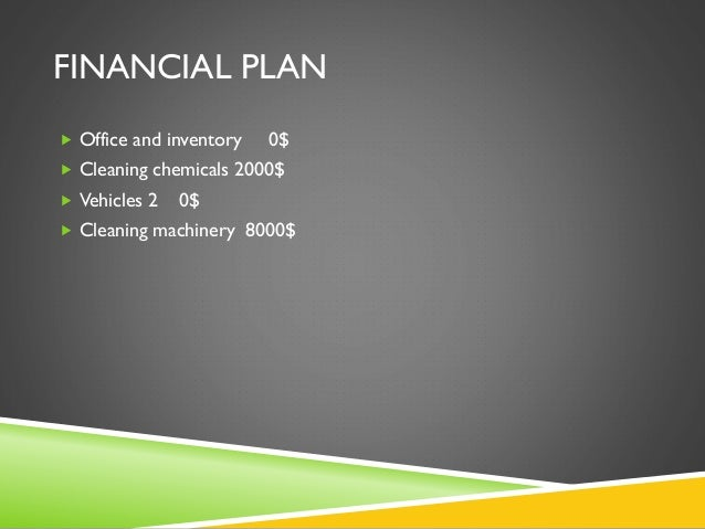 A Sample Office Cleaning Business Plan Template