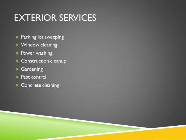Business plan cleaning service – Parking Garage Business Plan