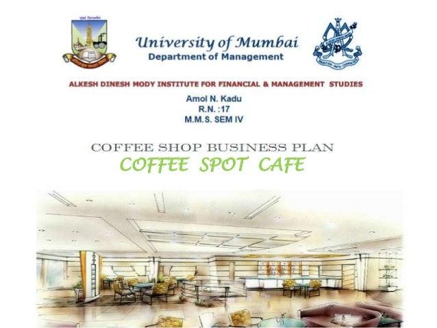 Business plan coffee shop