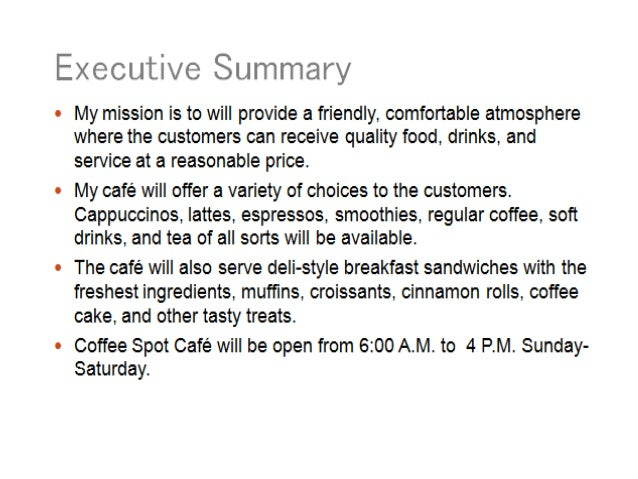 Coffee house business model