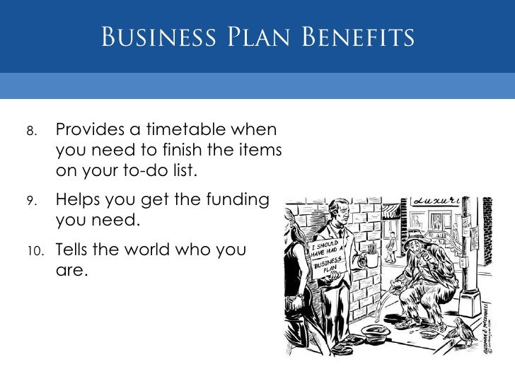 Benefits of a strategic business plan