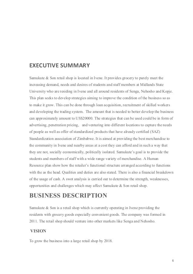 Simple Executive Summary Sample Executive Summary ResumesResume – Simple Executive Summary