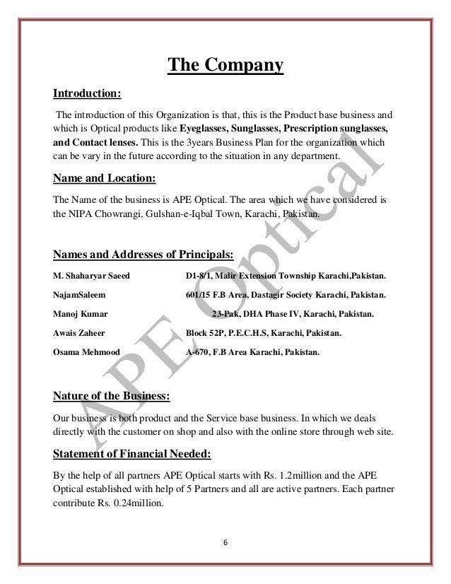 departmental store business plan in pakistan triluma