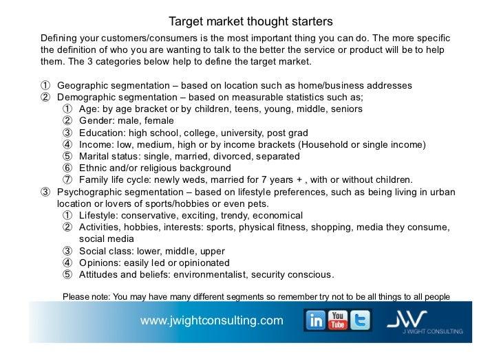 Business plan example for widget company v 1.1 november 1st 2011 j…