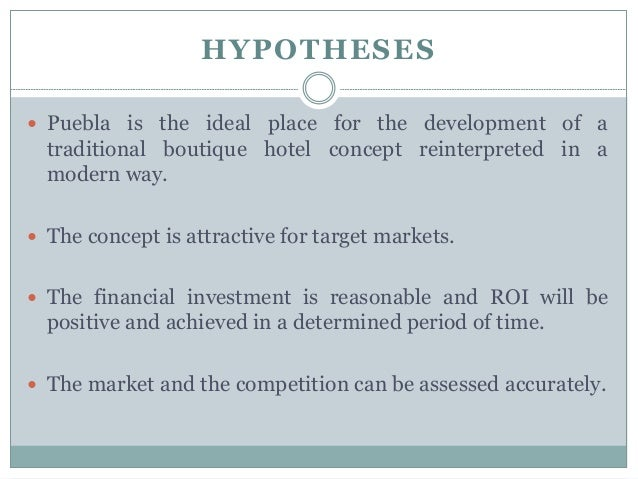 A Sample Hotel Business Plan Template (Hospitality)