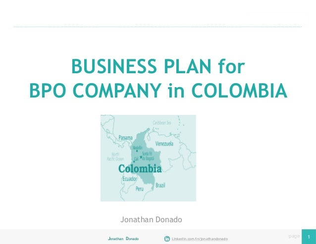 call center outsourcing business plan
