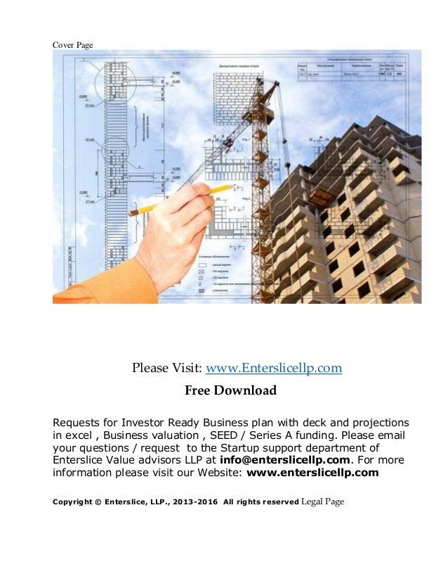 ihc engineering business plan