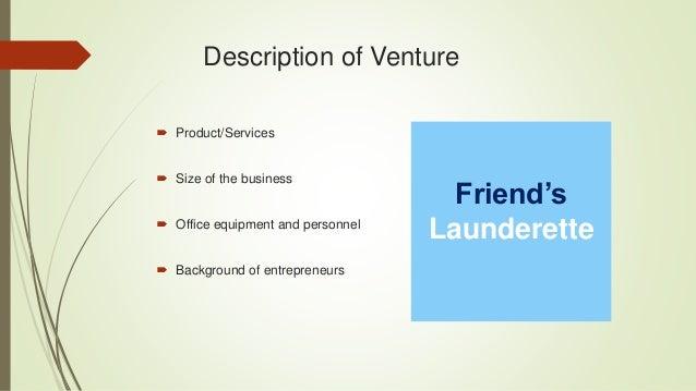 launderette business plan