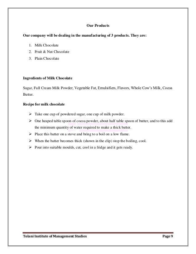 Bulk candy business plan