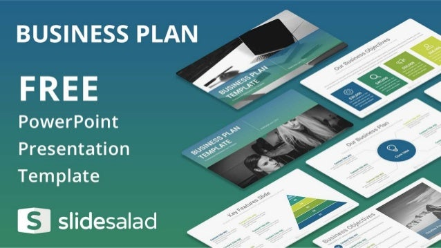 Business Plan Free Presentation Design For PowerPoint - Business plan powerpoint template free