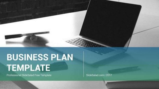 Entrepreneurship business plan ppt free