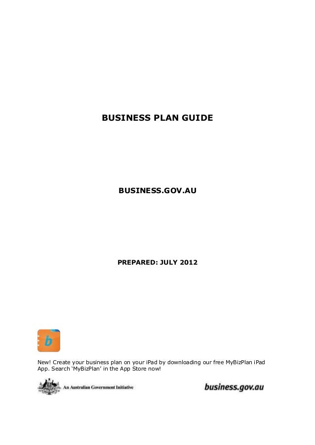 Guide service business plan