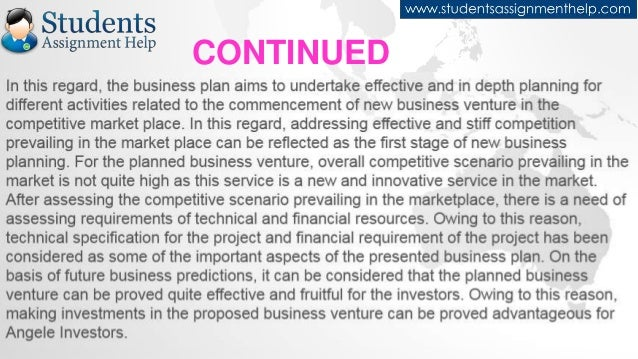 Innovative npo idea business plan