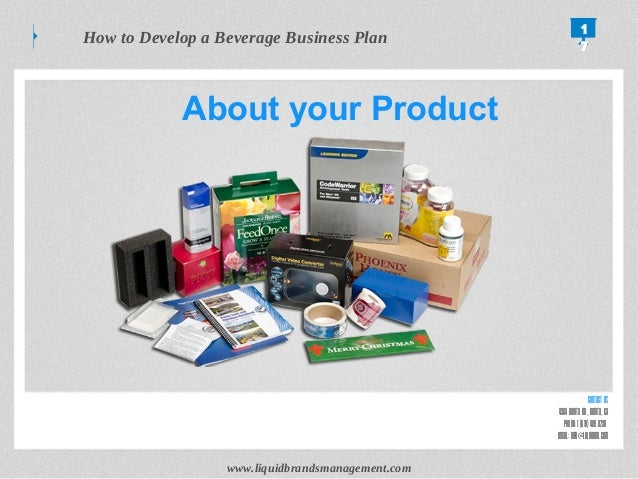A Sample Food & Beverage Distribution Business Plan Template