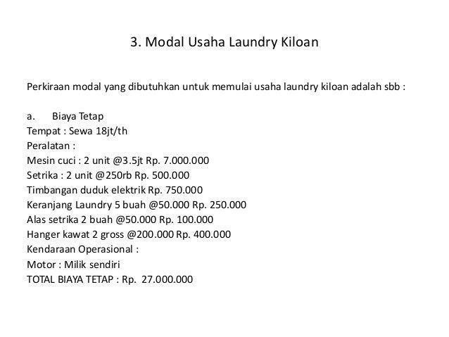 business plan laundromat