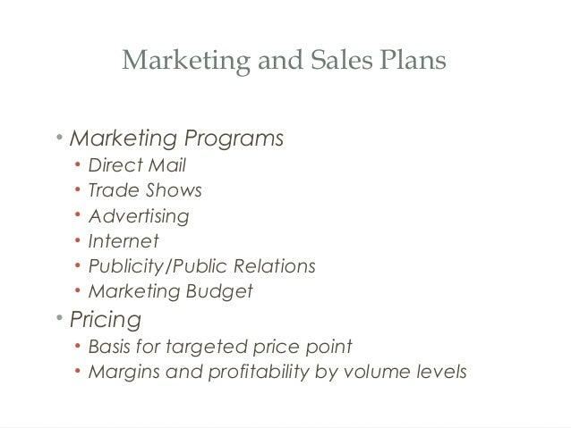 marketing programs examples