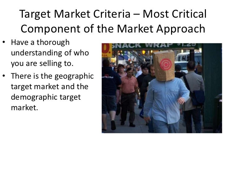 Business plan – market approach Slide 2
