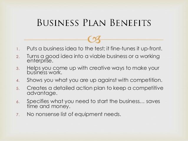importance of business plan to an entrepreneur pdf