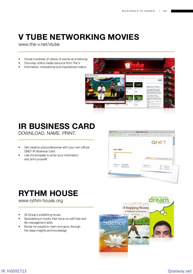 [QNETway]QNET Business Planner