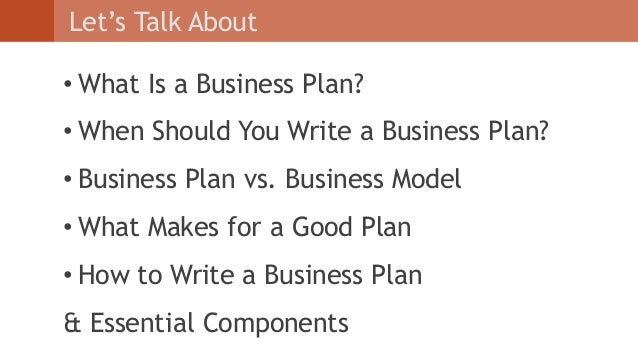 How to write an effective business plan sample