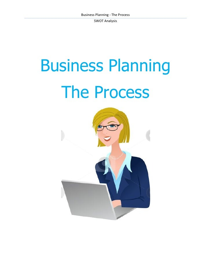 Business Planning - The Process             SWOT AnalysisBusiness Planning  The Process