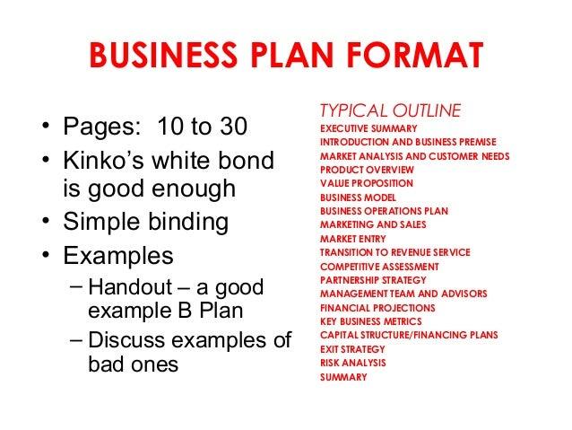 business plan filmmaking 101