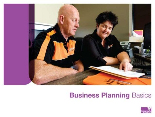 Business Financial Plan Basics