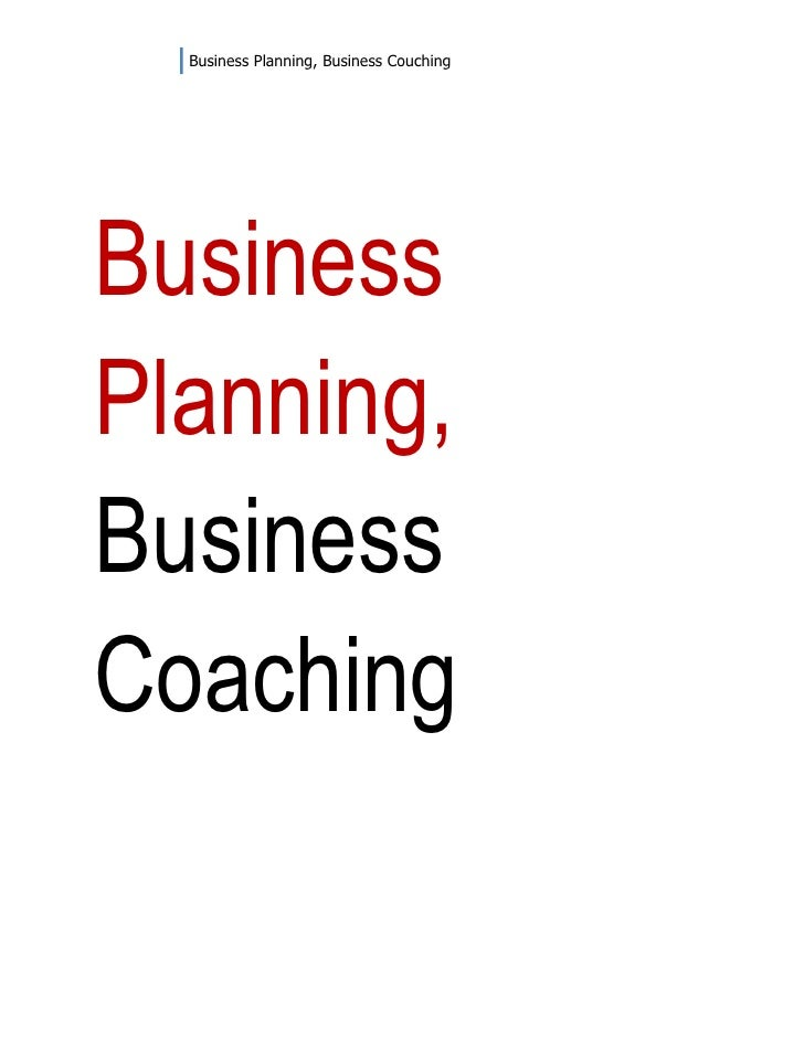 Business Planning, Business CouchingBusinessPlanning,BusinessCoaching