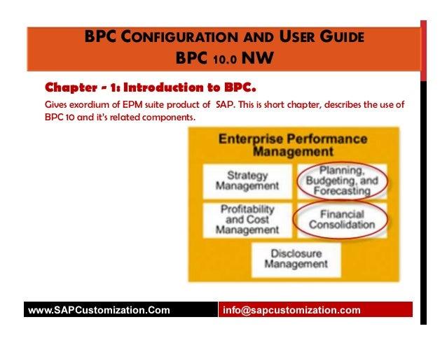 bpc configuration and user guide ver 10 0 rh slideshare net sap bpc 10.1 embedded configuration guide sap bpc 10.1 embedded configuration guide
