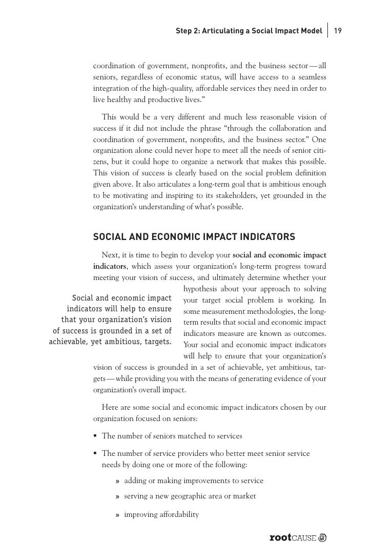 """Business Planning for Enduring Social Impact"" Review"