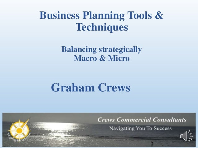 business planning tools and techniques