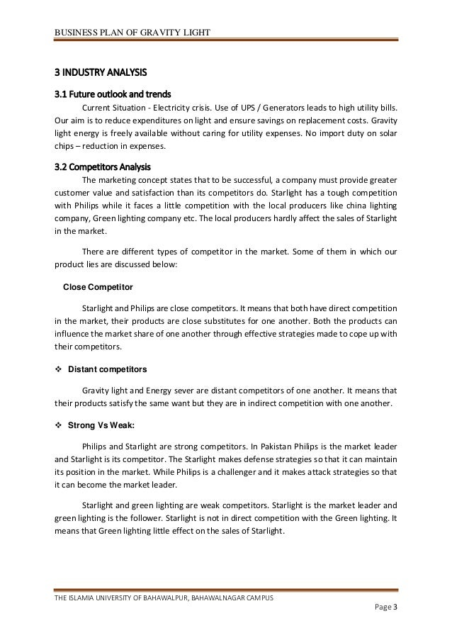 future business plan template