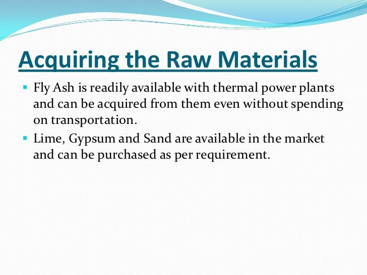 Fly Ash Bricks manufacturing – 10 Points to consider